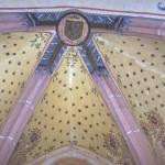 chapelle N.D. de la Salette - voûte