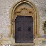 chapelle N.D. de la Salette - portail