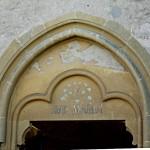 chapelle N.D. de la Salette - tympan