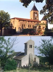 églises Ste Croix et St Laurent