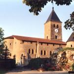 église Ste Croix - Lorry