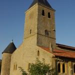 église de Lorry - angle sud-ouest