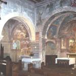 église Ste Croix - choeurs principal et nord, grande arcade de 1618
