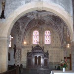 église Ste Croix - travée nord, croisée d'ogives