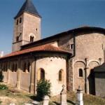 église Ste Croix - perspective sud-est