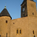 église Ste Croix - face ouest