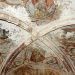 église Ste Croix - nef nord, voûte sur croisée d'ogives 13e siècle