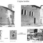 église Ste Croix - éléments de fortification