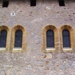 église de Lorry - mur nord, trace d'une grande fenêtre