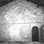église Ste Croix - combles, anciens pignons