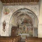 église Ste Croix - nef nord, choeur