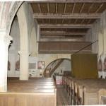 église Ste Croix - nef nord, entrée