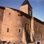 église Ste Croix - face nord