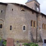 église Ste Croix - mur nord