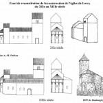 église Ste Croix - reconstitution 12e/13e siècle