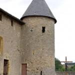 église Ste Croix - tour ronde