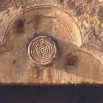 porte d'entrée - tympan trilobé