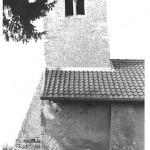 église St Laurent - inclinaison du clocher