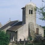 église St Laurent - vue nord-ouest