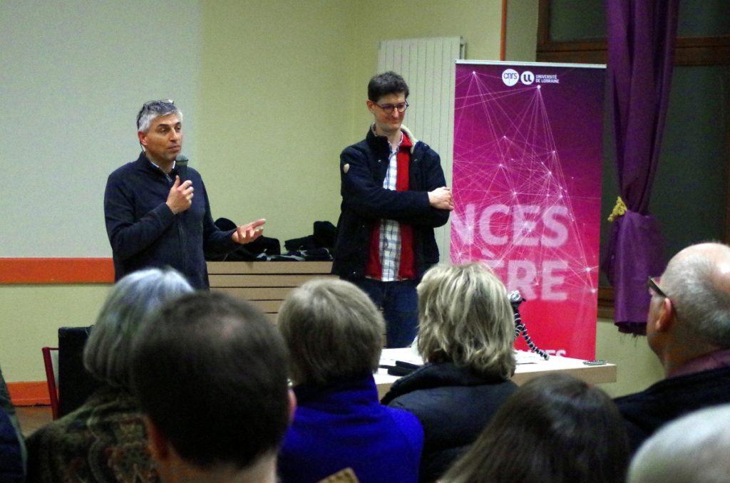 Pascal Frey et Marc Buée